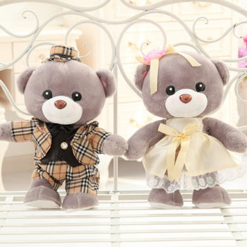 Teddy Bear Doll a Couple's Valentine's Day Gift Married Gift - MxDeals.com