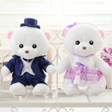 Teddy Bear Doll Couple's a Valentine's Day Gift Married Gift