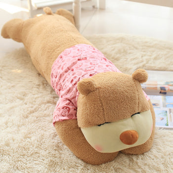 Teddy Bear Tummy Large Can Be Used as Bed Pillow Wear Clothes - MxDeals.com