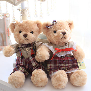Couple's Teddy Bear Doll Valentine's Day Gift - MxDeals.com