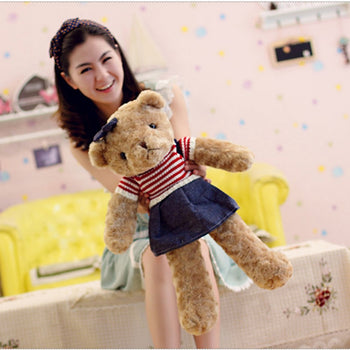 Teddy Bear Doll Female Wear Jeans - MxDeals.com