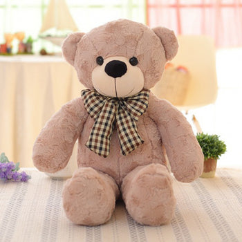 Teddy Bear Plush Toys Brown Gray - MxDeals.com