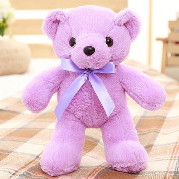 Teddy Bear Doll Purple Plush Toys - MxDeals.com
