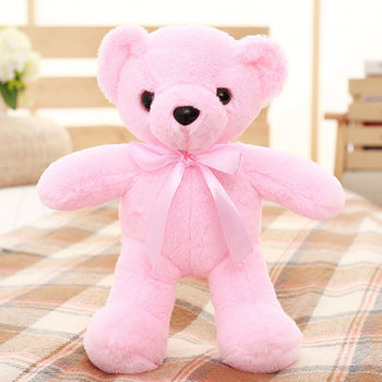 Teddy Bear Doll Pink Plush Toys - MxDeals.com