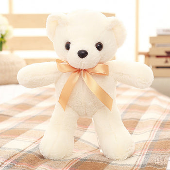 Teddy Bear Doll White Plush Toys - MxDeals.com