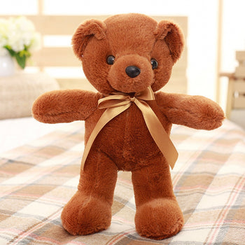 Teddy Bear Doll Dark Brown Plush Toys - MxDeals.com
