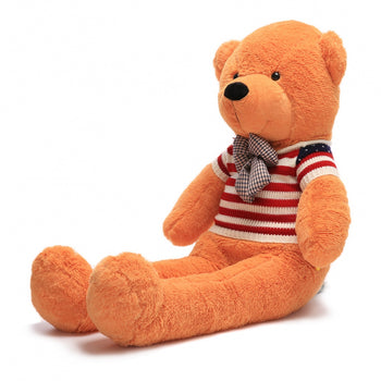 Wear Sweater of Light Brown Teddy Bear Two Kind of Size - MxDeals.com