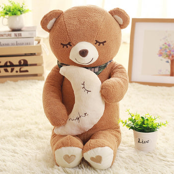Sleep of Brown Teddy Bear Doll Children Gift - MxDeals.com