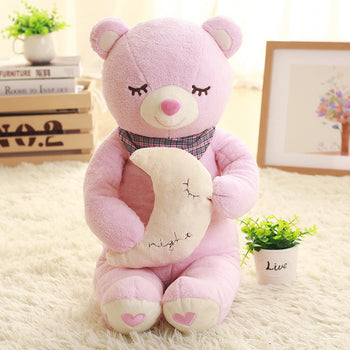 Sleep of Pink Teddy Bear Doll Children Gift - MxDeals.com