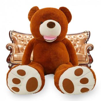 American Super Big Teddy Bear Amazing of Gift Brown