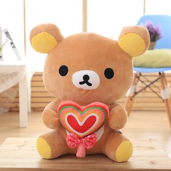 Brown Teddy Bear Arms Lovely Lollipop