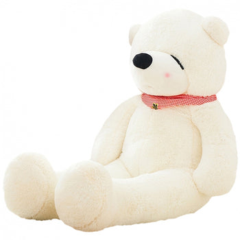 Sleepy Teddy Bear White Perfect of Gift