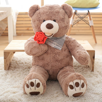 Giant Teddy Bear Big Teddy Bear Stuffed Bear 363# - MxDeals.com