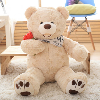 Giant Teddy Bear Stuffed Bear Giant Stuffed Animals 364# - MxDeals.com