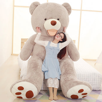Jorg Gray Mouth Teddy Bear American Big Teddy Bear - MxDeals.com