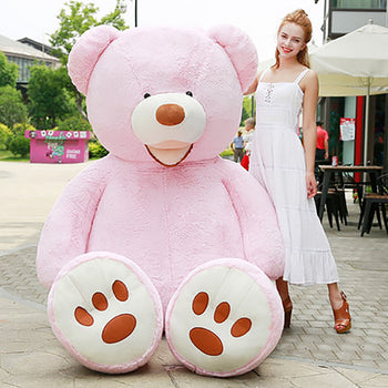 Pink Mouth Teddy Bear American Big Teddy Bear