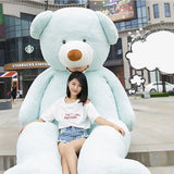 Mouth Teddy Bear American Big Teddy Bear Blue