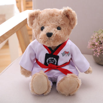 Red Belt Taekwondo Teddy Bear