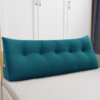 Removable Cover Bed Backrest Support Pillow - MxDeals.com