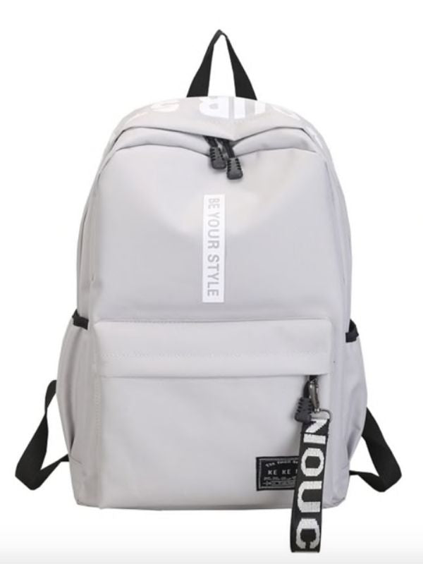 Be Your Style Unisex Backpack, perfect for school , college and office
