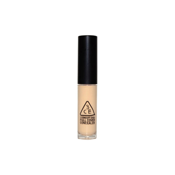 {3CE} FULL COVER CONCEALER #001 LIGHT BEIGE #002 NATURAL BEIGE