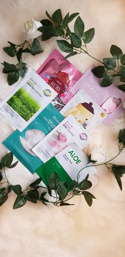 {INSHINE OUT} MONTHLY SHEET MASK SUBSCRIPTION