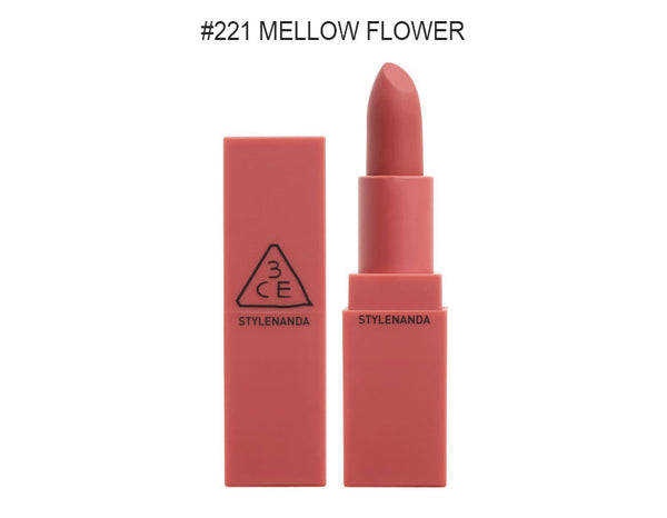 {3CE} MOOD RECIPE MATTE LIP COLOUR #221 MELLOW FLOWER