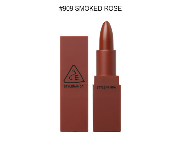 {3CE} MATTE LIP COLOUR #909 SMOKED ROSE