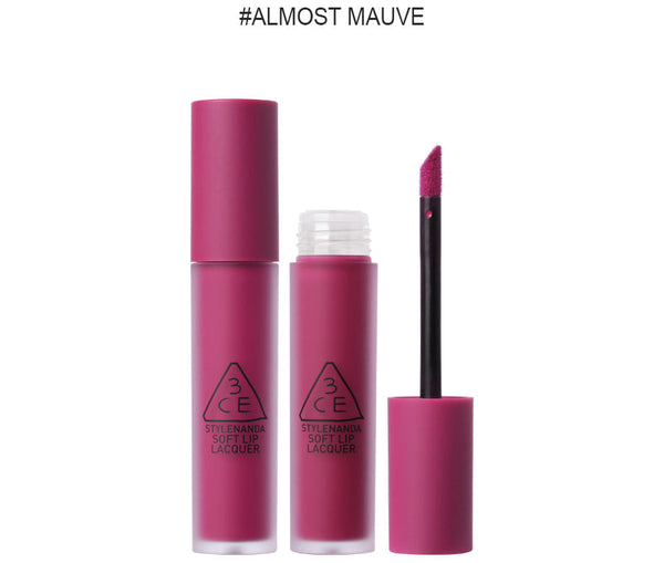 {3CE} LIP LACQUER #ALMOST MAUVE
