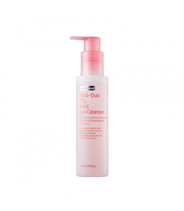 {BY WISHTREND} ACID-DUO 2% MILD GEL CLEANSER