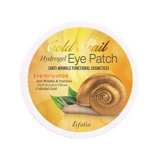 {ESFOLIO} GOLD SNAIL HYDROGEL EYE PATCH 60PCS