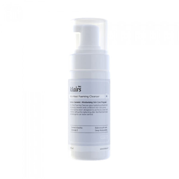 {DEAR, KLAIRS} RICH MOIST FOAMING CLEANSER