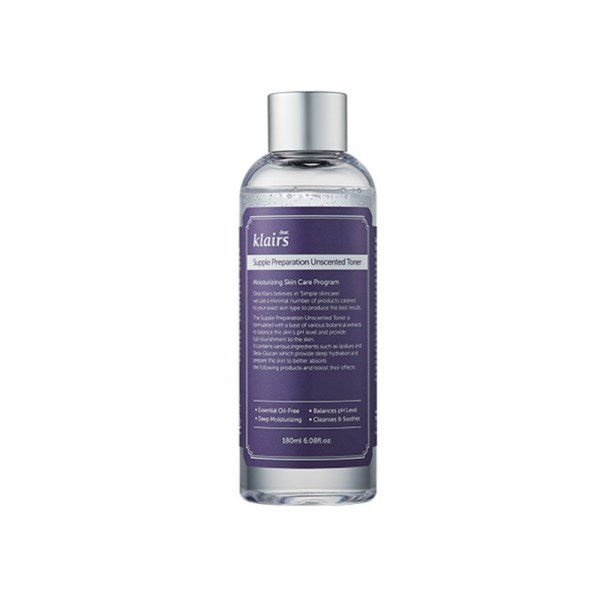 {DEAR, KLAIRS} SUPPLE PREPARATION FACIAL TONER - UNSCENTED