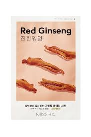 {MISSHA} AIRY FIT SHEET MASK -  RED GINGSENG