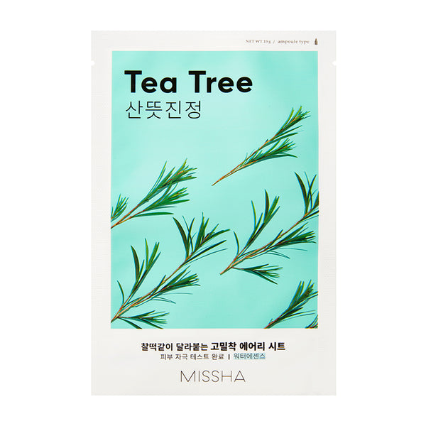 {MISSHA} AIRY FIT SHEET MASK - TEA TREE