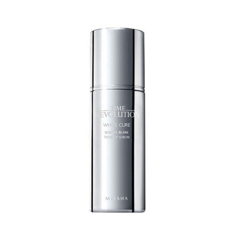 {MISSHA} TIME REVOLUTION WHITE CURE SCIENCE BLANC TONE-UP SERUM