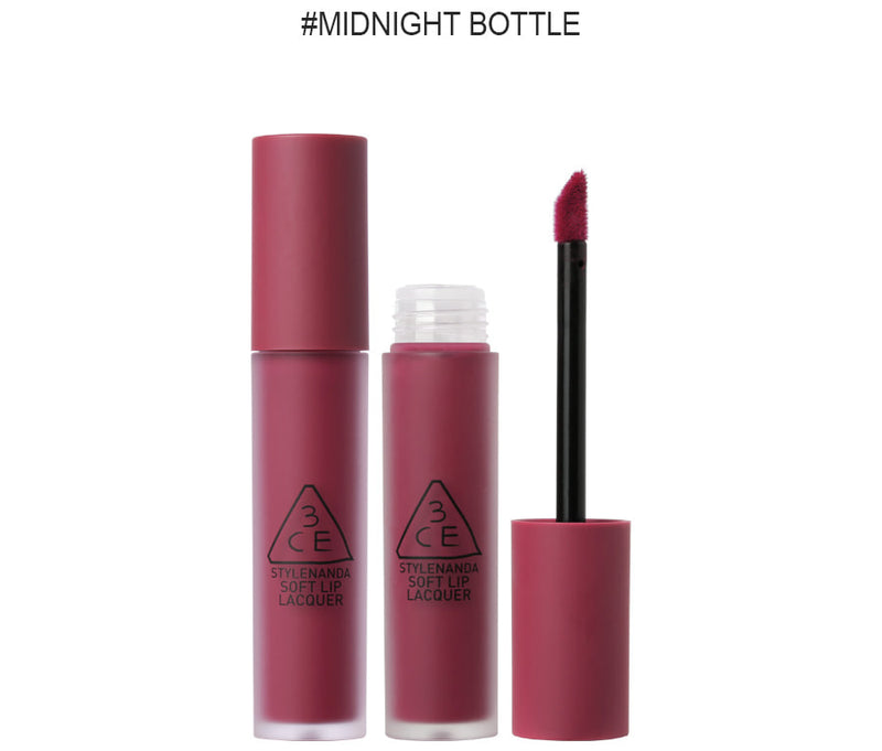 {3CE} LIP LACQUER #MIDNIGHT BOTTLE