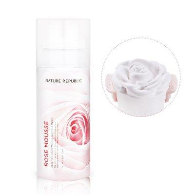 {NATURE REPUBLIC} REAL FRESH ROSE MOUSSE FOAM CLEANSER