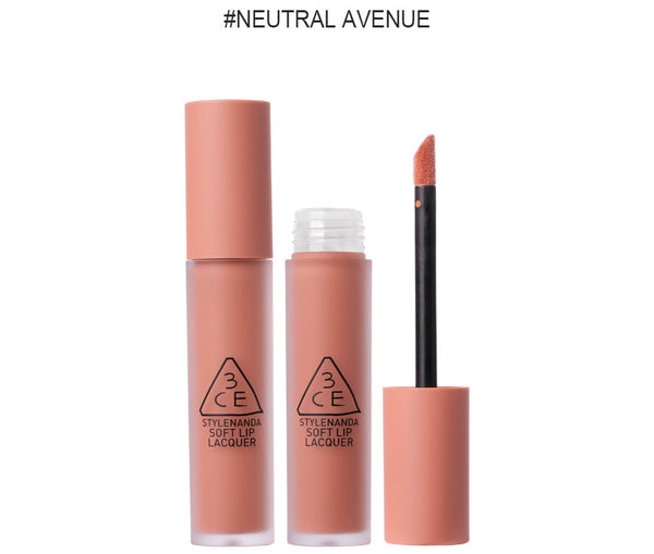 {3CE} LIP LACQUER #NEUTRAL AVENUE