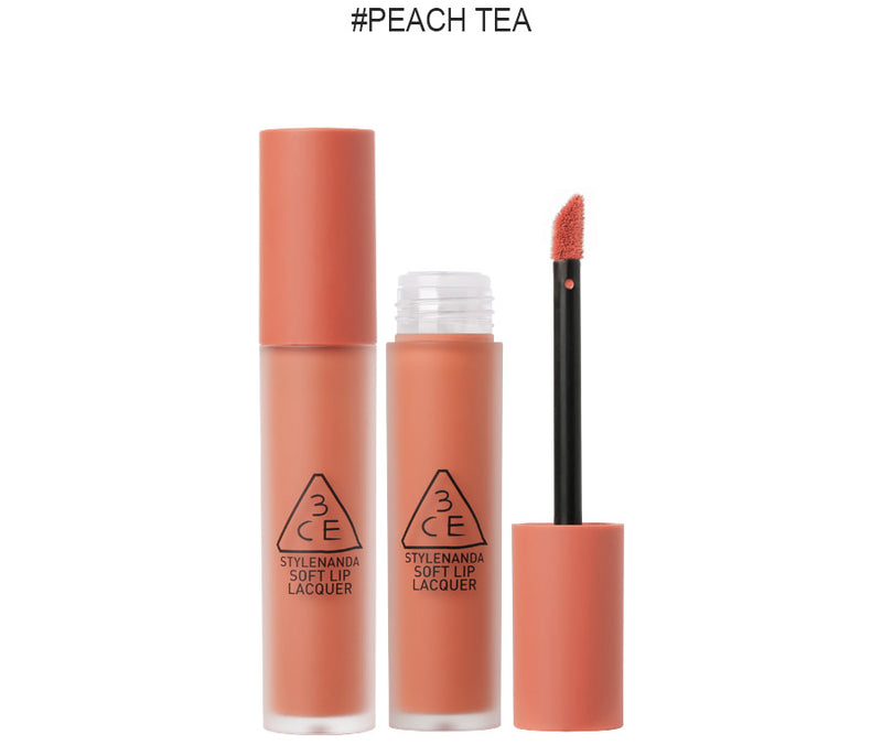 {3CE} LIP LACQUER #PEACH TEA