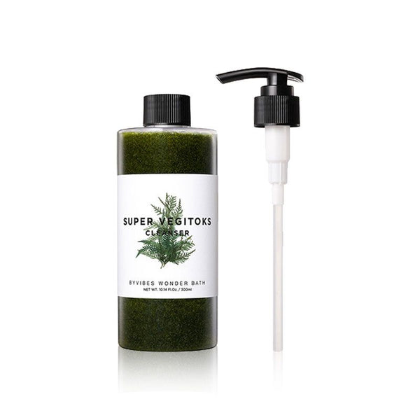 {WONDER BATH} SUPER VEGITOKS CLEANSER + PUMP