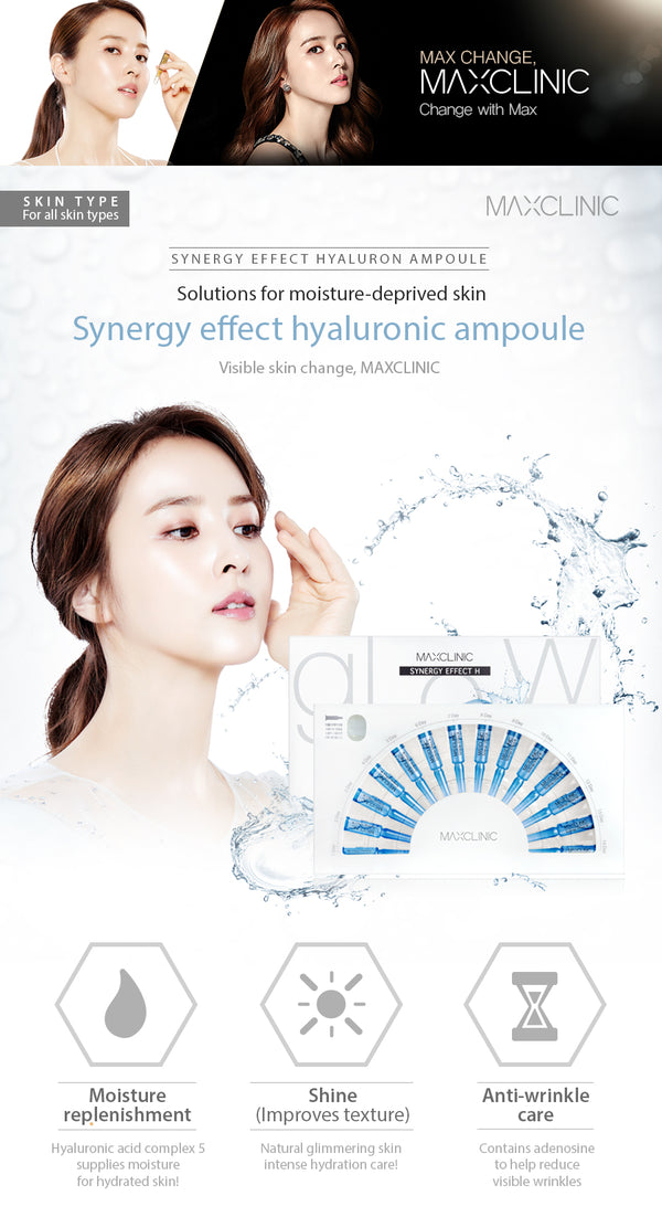 {MAXCLINIC} SYNERGY EFFECT HYALURON APMPOULE 14PCS