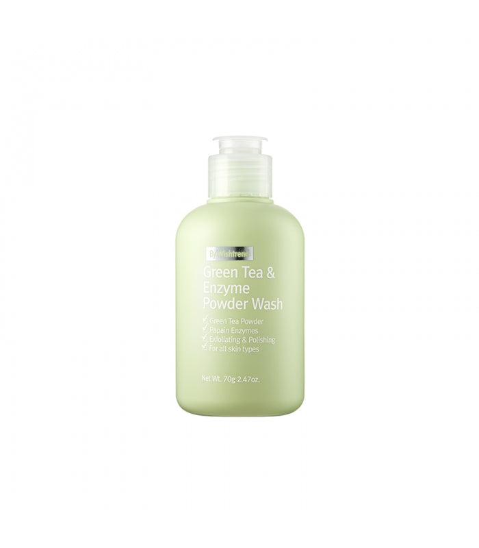 {BY WISHTREND} GREEN TEA & ENZYME POWDER WASH