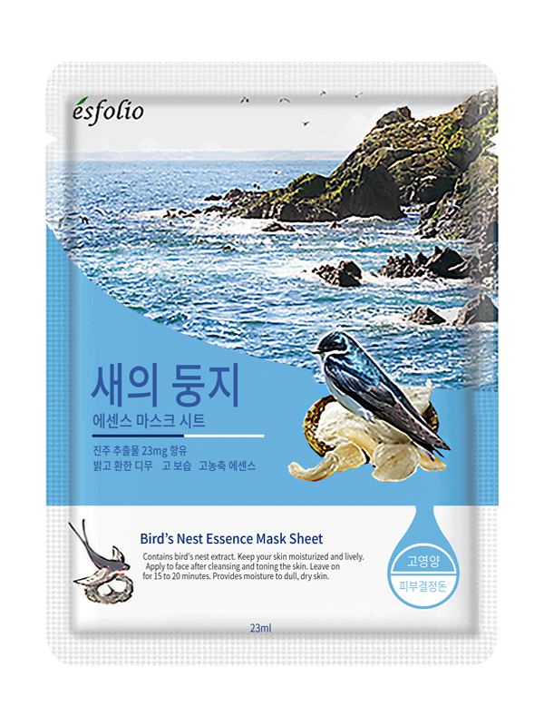 {ESFOLIO} BIRD'S NEST ESSENCE MASK SHEET