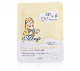 {ESFOLIO} PURE SKIN PEARL ESSENCE MASK SHEET