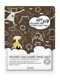 {ESFOLIO} PURE SKIN VOLCANIC ASH ESSENCE MASK SHEET