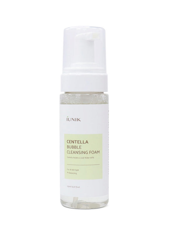 {IUNIK} CENTELLA BUBBLE CLEANSING FOAM