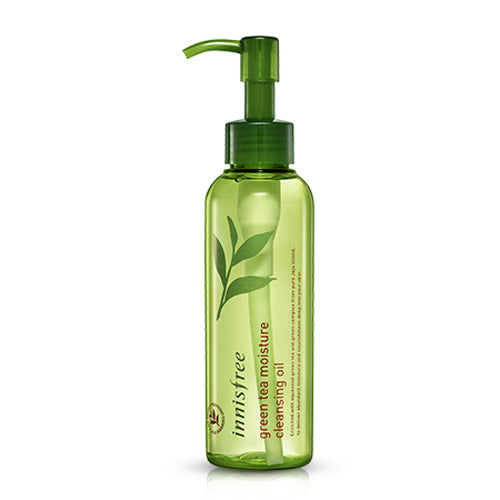 {INNISFREE} GREEN TEA MOISTURE CLEANSING OIL