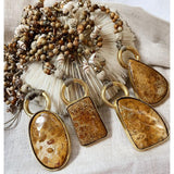 Fossil Coral Beading Necklace