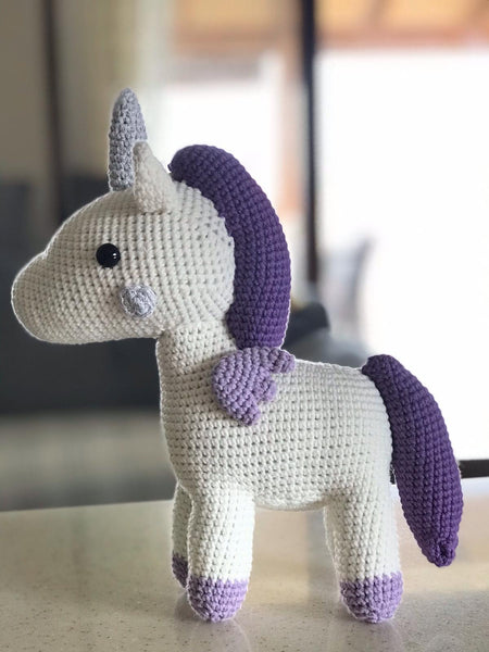 Crochet Unicorn Pattern- 32 Free Crochet Patterns | Häkelanleitung ... | 600x450